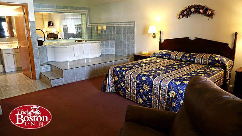 Hotel Rooms | Cheap Hotel Rooms | Jacuzzi In Room | The Boston Inn ...